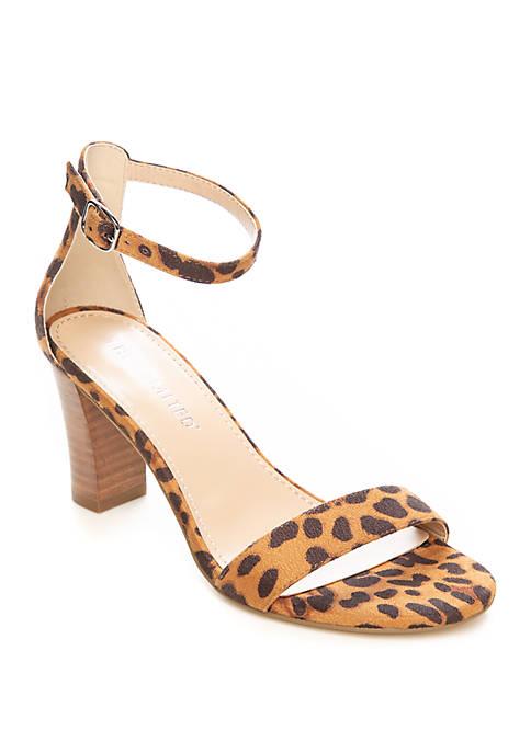Leopard Quinta Sandals