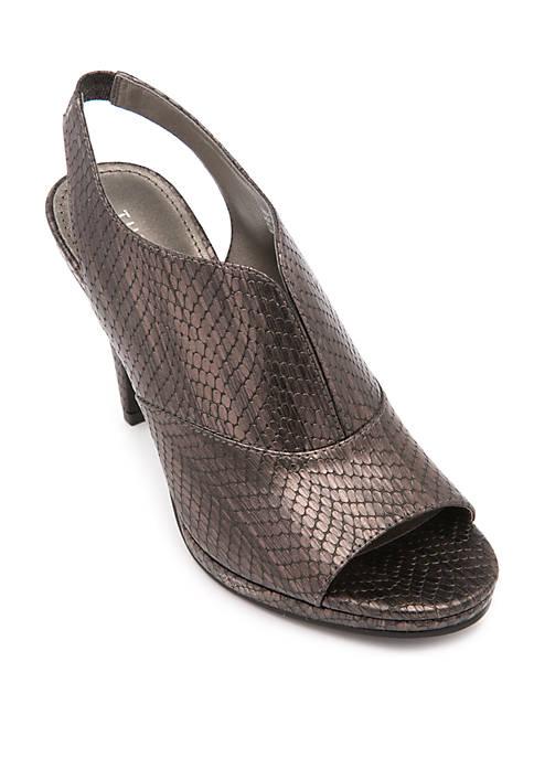 Tada Metallic Heels