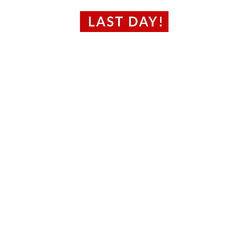 black friday only comes twice a year 60% off almost everything - ends 7-22