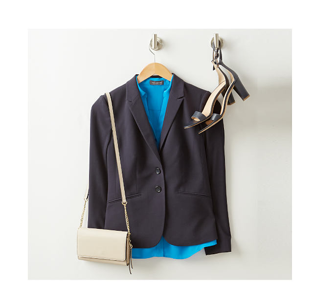 MENSWEAR-INSPIRED - structured pieces to top your look. Shop Blazers.
