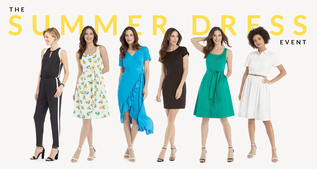 The Summer Dress Event - All dresses and jumpsuits 39.99