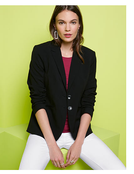 Structured Classics. Shop Blazers.