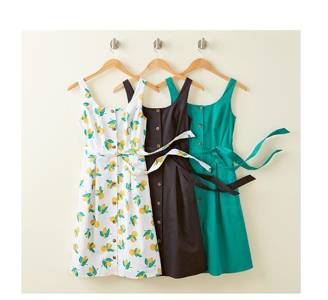 Fresh Picks - summer's must-have prints & solids. Shop Dresses.