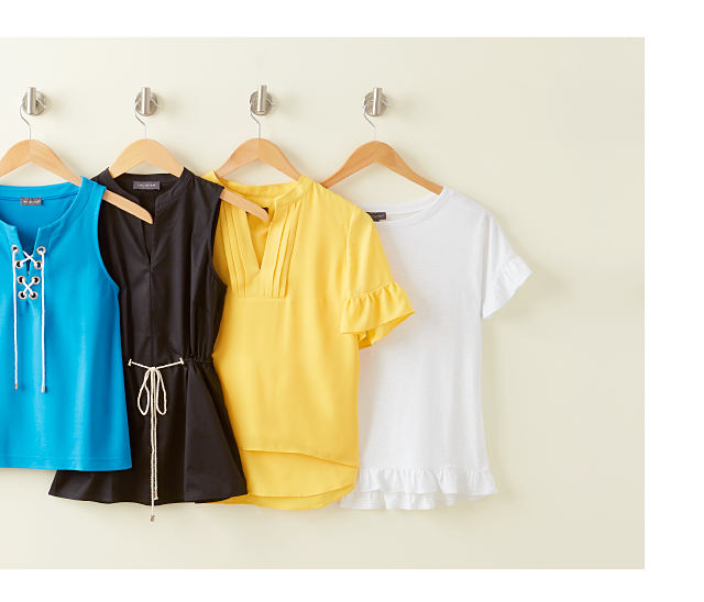 Summer Solids - pair them with your favorite tops. Shop Tops.